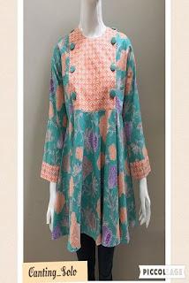 Baju Batik Wanita Muslim Untuk Pesta