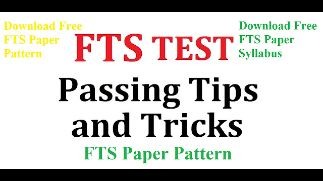 FTS Paper Pattern for Elementary & Secondary Education KPK