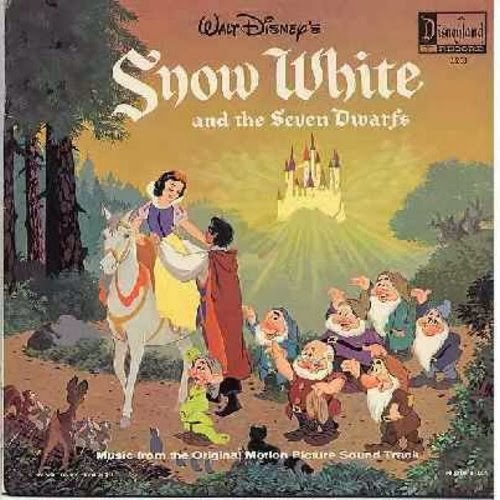 Snow White and the Seven Dwarfs soundtrack album animatedfilmreviews.filminspector.com