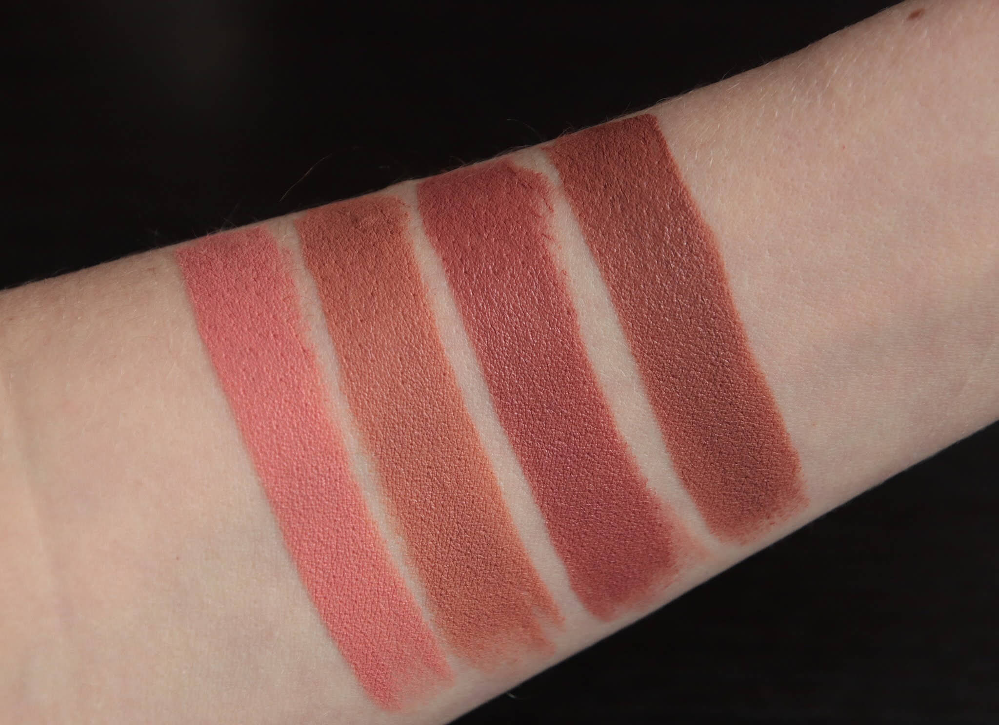rouje clara andrea laure elise swatch