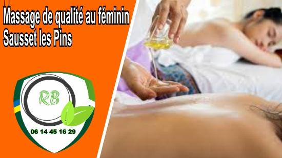 Massage de qualité au féminin Sausset les Pins;