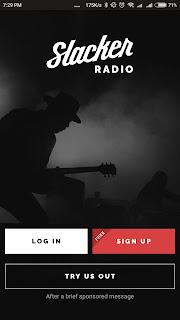 Slacker Radio Aplikasi Musik Terbaik di Android