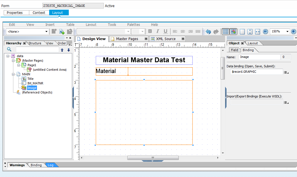 SAP ABAP Central: Getting an image from material master data