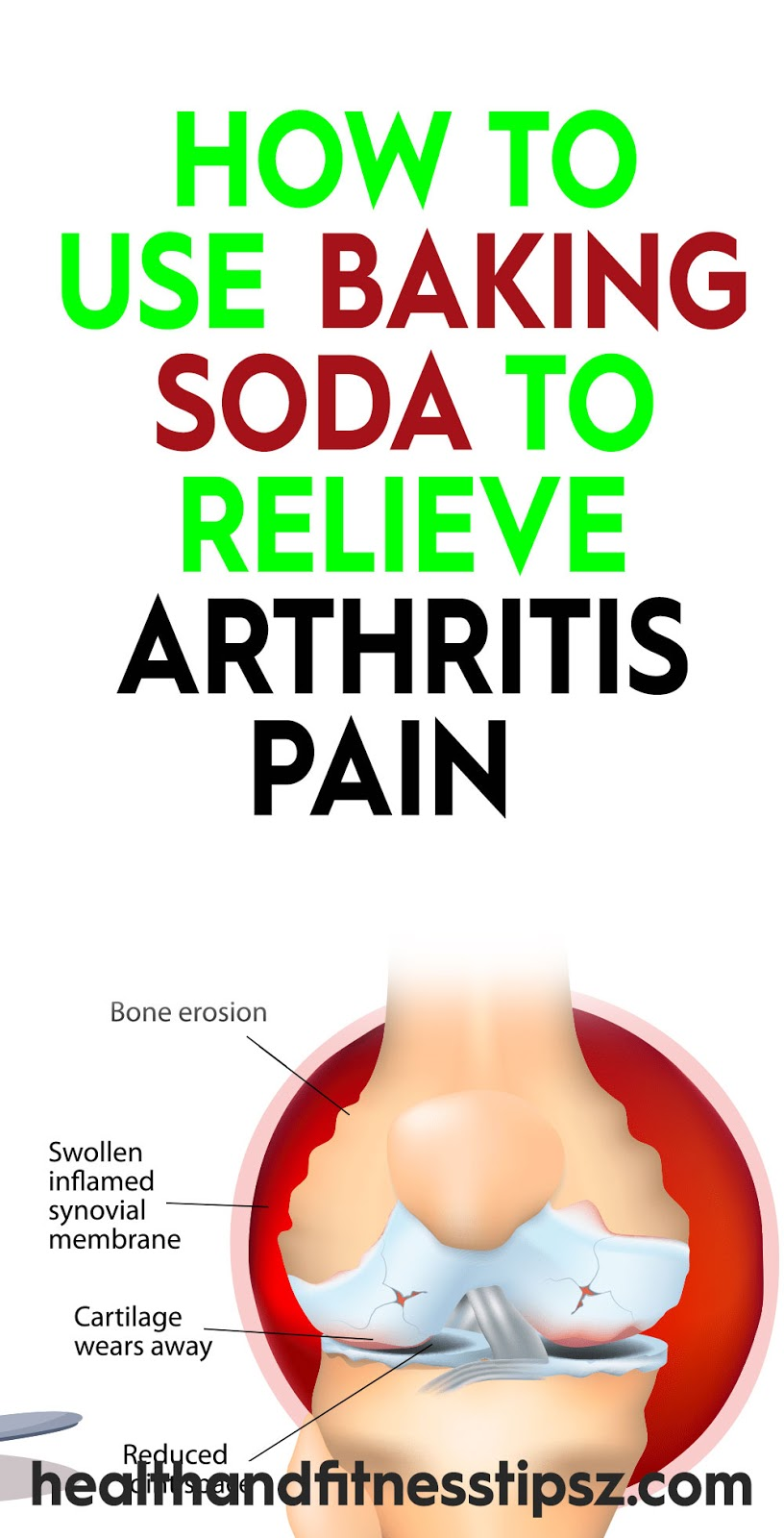 How to Use Baking Soda To Relieve Arthritis Pain