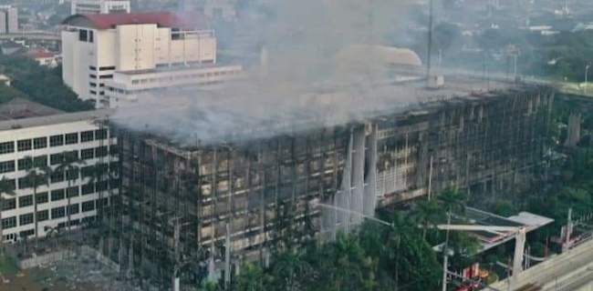 Kebakaran Gedung Jangan Surutkan Langkah Kejagung Ungkap Kasus Jaksa Pinangki