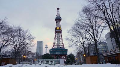 Sapporo Snow Fest Di TV Tower