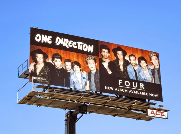 One Direction Four album billboard