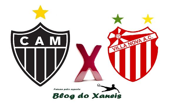 Atlético x Villa Nova    Campeonato Mineiro   Sáb. 04/03/2017     Independência, BH , 16h30min