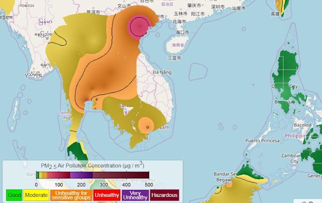 Ô nhiễm bụi mịn PM 2.5