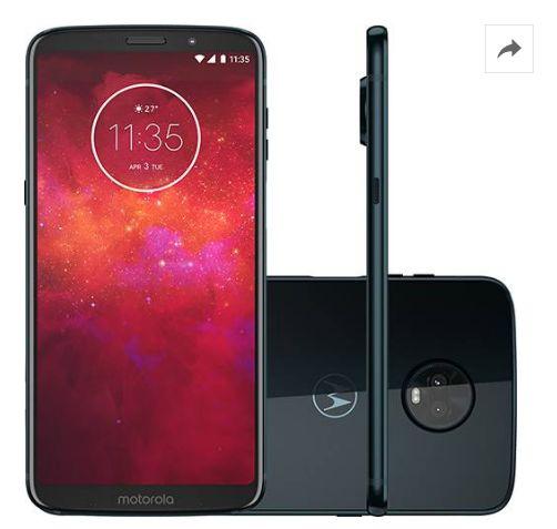 Comprar Smartphone Motorola Moto Z3 Play Dual Chip Índigo