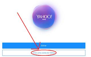 Criar um Yahoo email pelo celular
