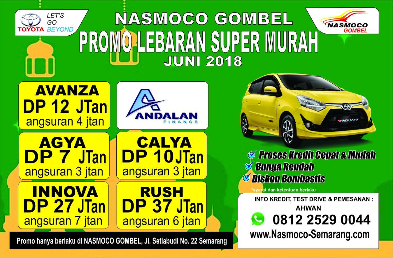 Promo Spesial Lebaran Super Murah - Nasmoco Semarang Juni 2018