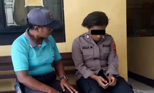 SM Polwan Gadungan Berpangkat Brigpol Diamankan Polisi