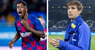 Koeman sends Juan Miranda and Ilaix Moriba back to Barcelona B training after weeks with first team