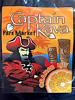 Captain Kava Powder form with Orange Flavor at Pars Market Columbia, MD 21045