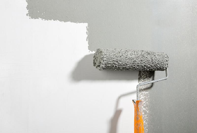 La stesura della pittura