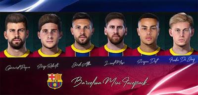 PES 2021 Barcelona Facepack by Messi Pradeep