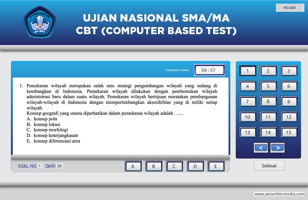 Ala Pelajar Download Software Simulasi Unbk Sma 2016 Ipa Amp Ips