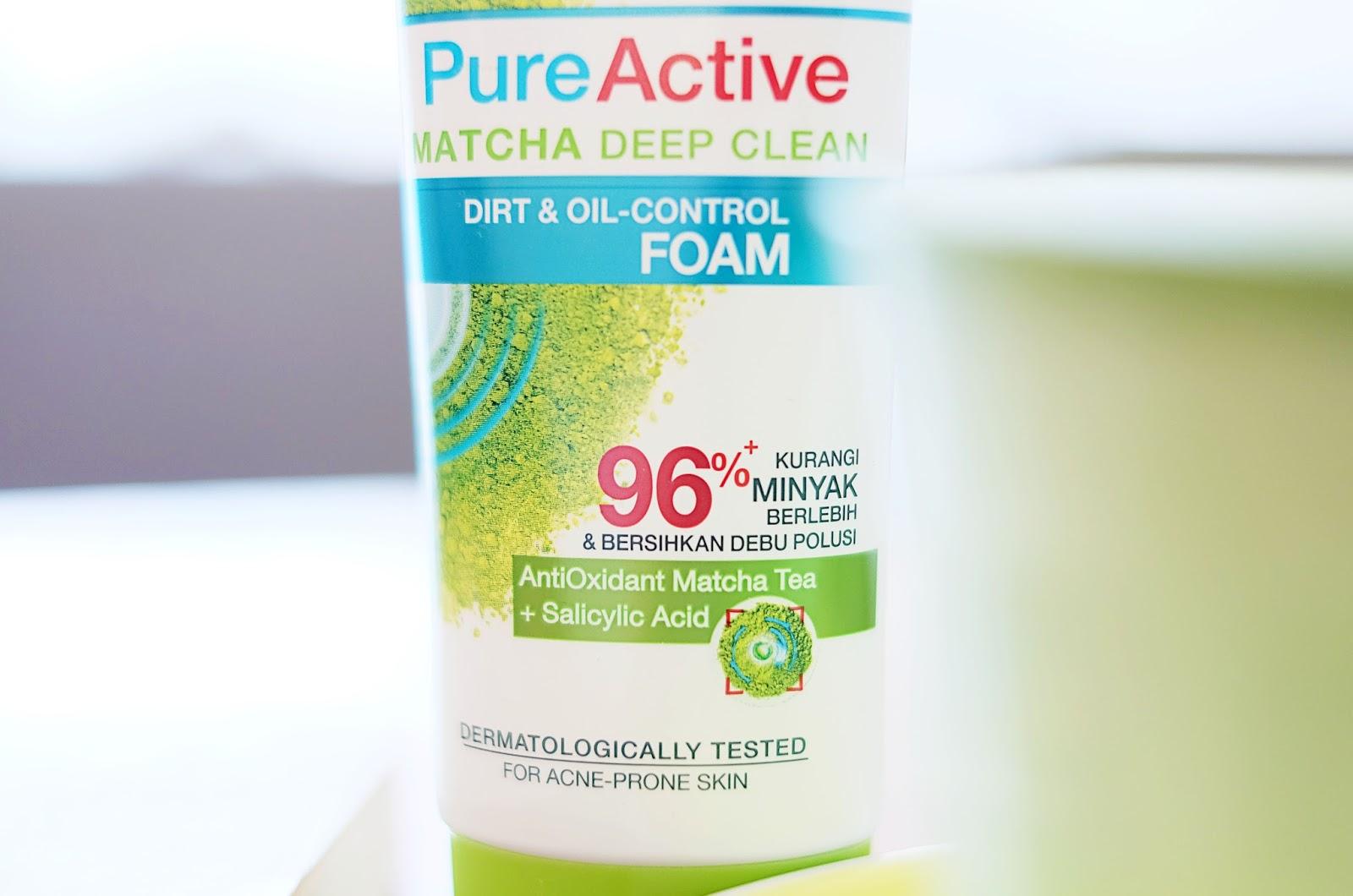 Manfaat Pencuci Muka Garnier Matcha Pure Active Deep Clean 50ml Beberapa Waktu Lalu Aku Sempat Diundang Ke Acara Launching