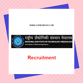 NIT Meghalaya Recruitment 2020 for Junior Research Fellow (JRF)