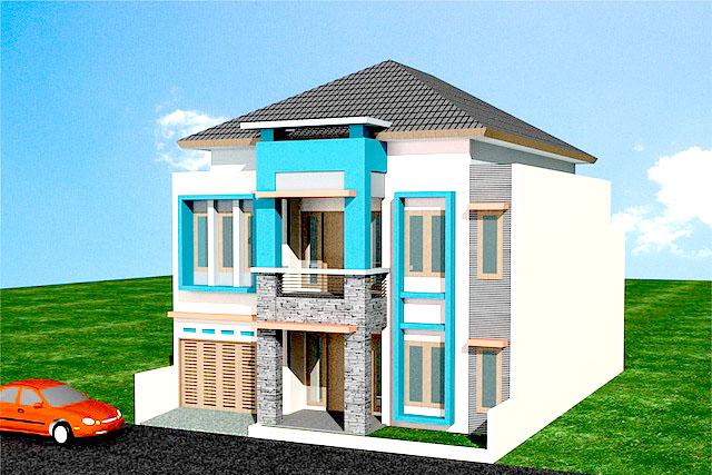 02 Desain Rumah Minimalis Type 60