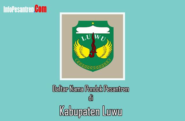 Pesantren di Kabupaten Luwu