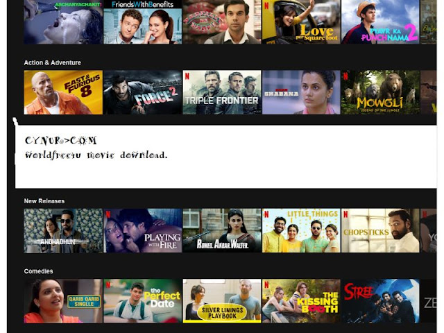 Download New HD Hollywood, Bollywood Movie on Mobile for Free