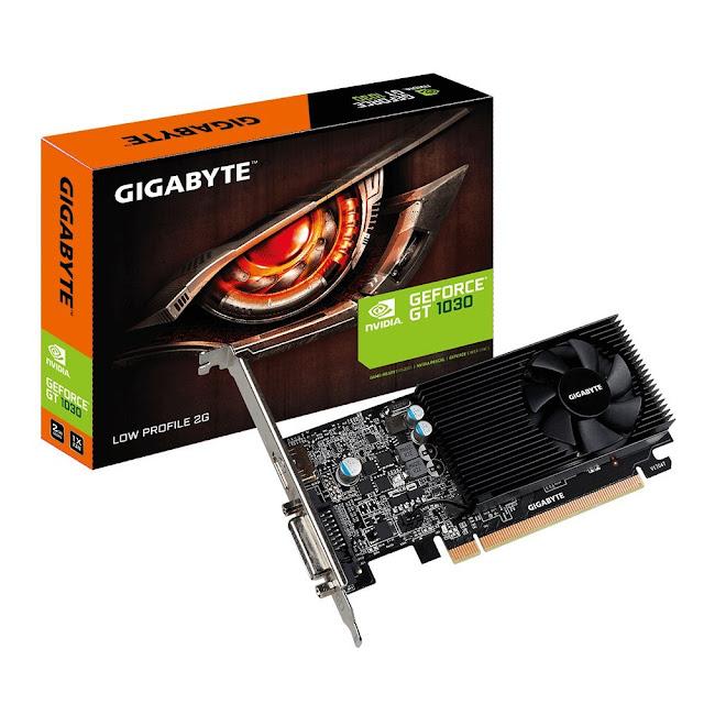 Gigabyte GeForce GT 1030 Low Profile D4 2G DDR4 Graphics Card (GV-N1030D4-2GL)