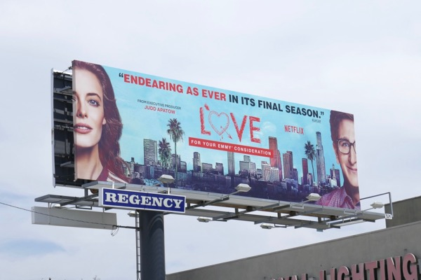 Love 2018 Emmy FYC billboard