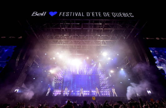 Backstreet Boys Festival Quebec 09-07-17