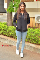 Actress Ritika Singh Stills at Guru Movie Success meet  0025.JPG