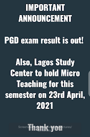 Breaking News - PGD RESULT IS OUT..!!!