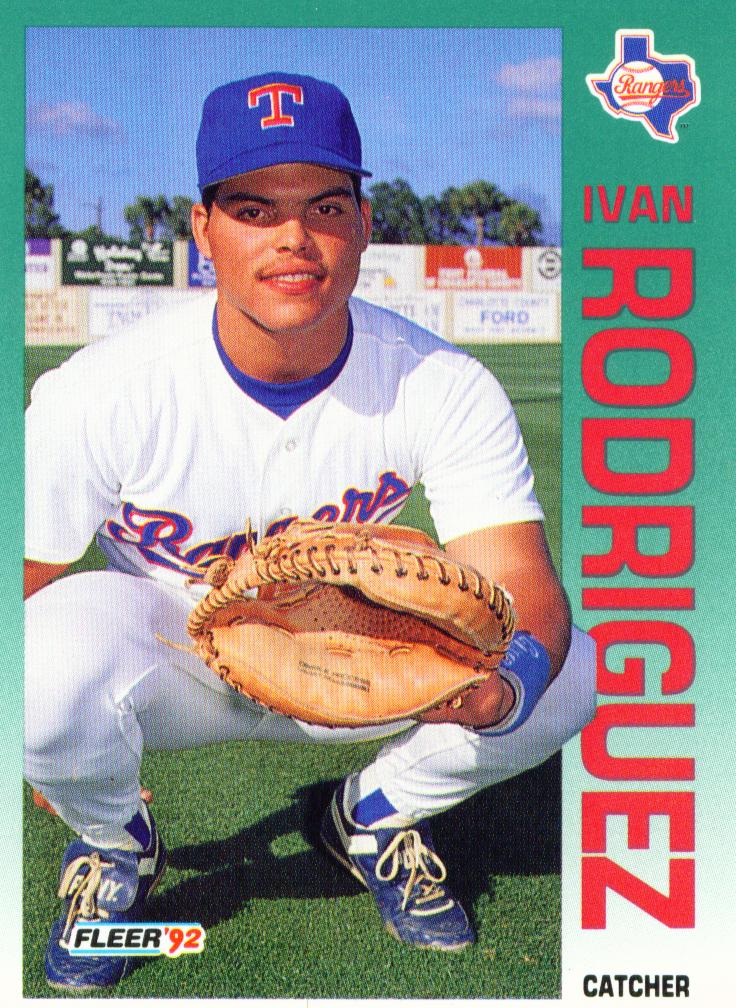 Texas Rangers Cards Decisions Letting Pudge Walk