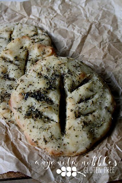 Gluten-free vegan Fougasse | Anyonita Nibbles