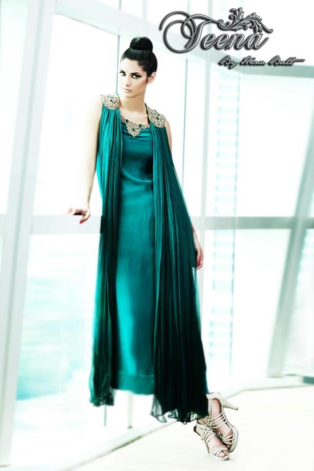 New Formal Dress designs For girls 2013-teena dress design ...