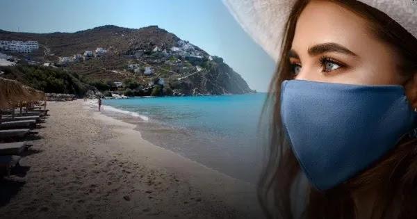 «Μάσκα στην παραλία» με 40 βαθμούς Κελσίου ζητούν οι «ειδικοί»: «Να πάτε σε ερημικές και να μην παίζετε παιχνίδια»