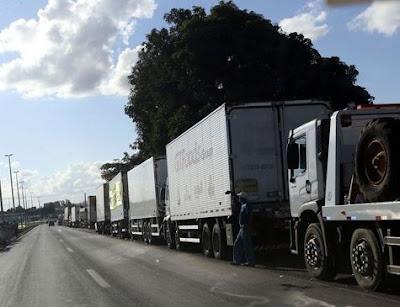 Entidades enviam carta a Bolsonaro contra o tabelamento do frete
