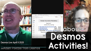 All About Desmos Activities! YouTube replay