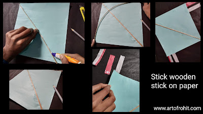 How to make kite, step by step tutorial for to make kite, how to make kite on makar Sankranti, step by step guide for to make kite, easy tutorial for to kite