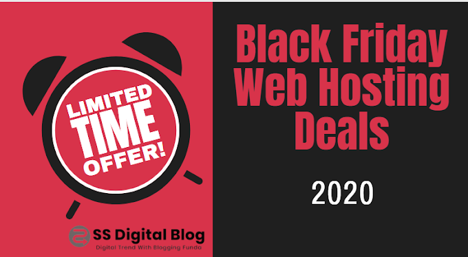 Black Friday Web Hosting Deals 2020 : 90 % OFF
