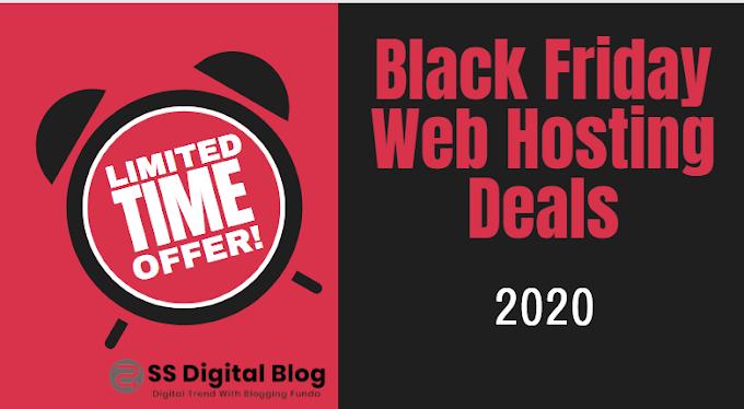 Black Friday Web Hosting Deals 2020 : 90 % OFF