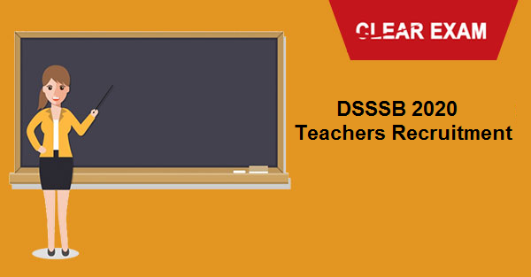 DSSSB 2020 Teacher Recruitment Notification OUT