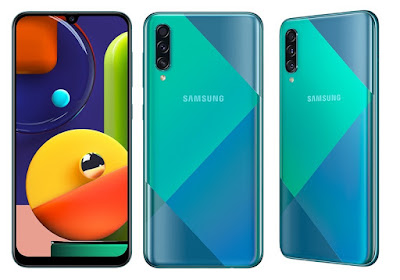 Samsung Galaxy A50s Green