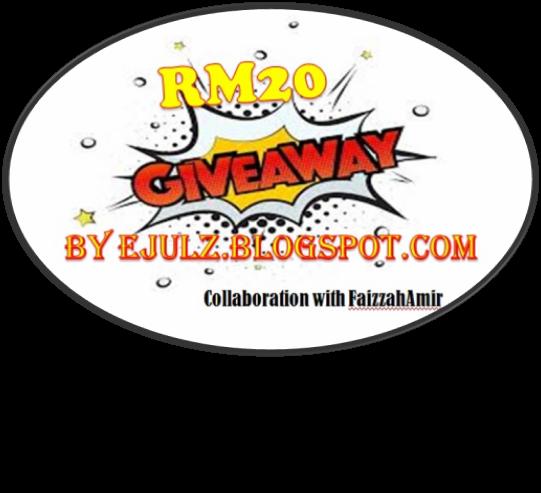 Giveaway by ejulz & faizzahamir