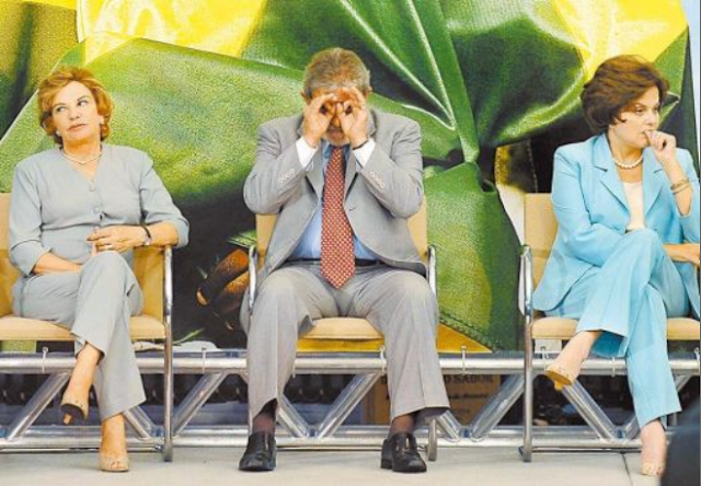 Marta Suplicy, Lula, e Dilma, 2002