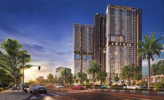 Opal Cityview sắp được ra mắt tại thành phố Thủ Dầu Một, Bình Dương