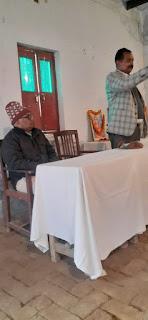सरस्वती बाल मंदिर में मनायी गयी स्वामी विवेकानंद की जयंती  | #NayaSaberaNetwork