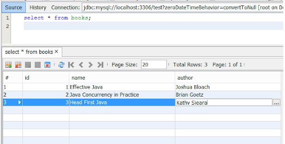 How to connect MySQL database in Java with example