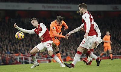 Highlight Arsenal 3-3 Liverpool, 22 Desember 2017