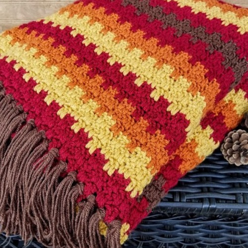 Fall Foliage Afghan - Free Pattern